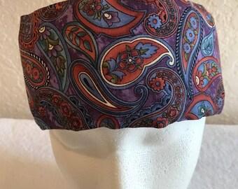 Freezeit! Migraine Headwraps Purple Paisley