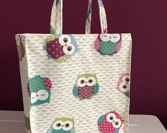Canvas Lunch Tote Bag
