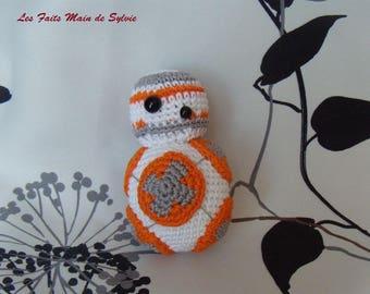 BB8 Star Wars robot crochet