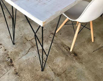 28 inch Web Style Hairpin Handmade Ready to ship Legs table leg desk leg Steel multiple colors powder coated ( Set of 4 )
