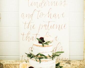 Custom Oversized Scroll Backdrop - Wedding Backdrop - Special Event Backdrop - Aisle Runner - Scroll Runner - Table Runner