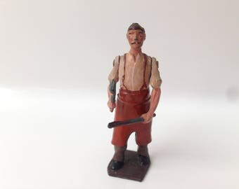 Vintage Britains Toy Soldiers Civilian Series #650 Blacksmith