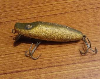 Vintage 1939 Paw Paw Lippey Joe Wood Fishing Lure Series 6100