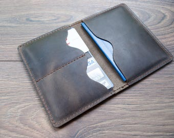 Leather Passport Cover, Personalized Passport Cover, Passport Wallet, Passport Case, Passport Holder Leather, Travel Accessories, Mens Gift