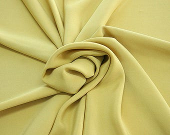 305070-Crepe marocaine Natural Silk 100%, width 130/140 cm, made in Italy, dry cleaning, weight 215 gr