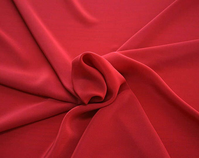 301102-Chinese natural silk crepe 100%, width 135/140 cm, made in Italy, dry cleaning, weight 88 gr