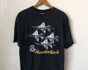 Vintage Thinderbirds Air Force USAF Vintage 90's T Shirt
