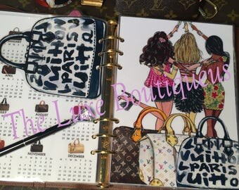 Girls Weekend Getaway Dashboard/Alma Page Marker Option- Double Sided GM, MM, PM