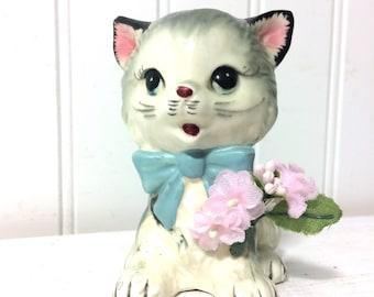 Vintage Napco Ceramic Kitty