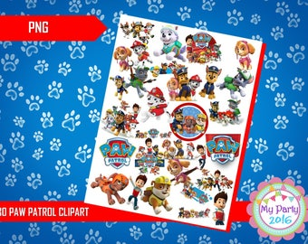 30 Paw Patrol Clipart PNG - Transparent Background