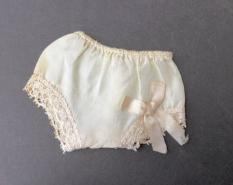 """Cute Little Vintage 1950's Doll Panties for Approx. 12"""" Hard Plastic Doll"""