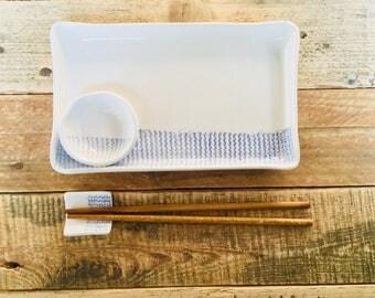 sushi set Ebusus, Tableware Accessories, Ceramic Bowl, Pottery Bowl,  Contemporary Pottery Bowl, Appetizer set, ceramic bowl