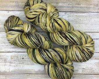 Hand Dyed Yarn | Superwash Merino Wool/Nylon Blend | Full-Bodied Sock/Fingering Weight | 100 g. | Chocolate Chai | 4-ply