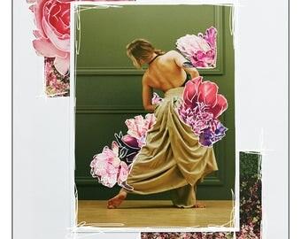 Arc | original collage art print