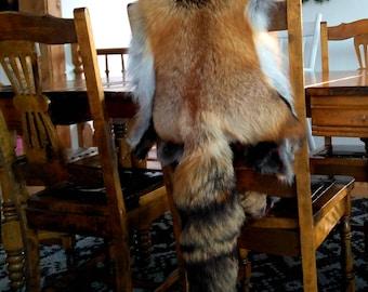Throw in Fox Fur