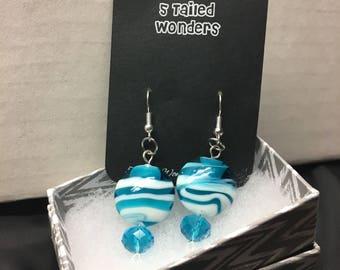 Sea Blue dangles