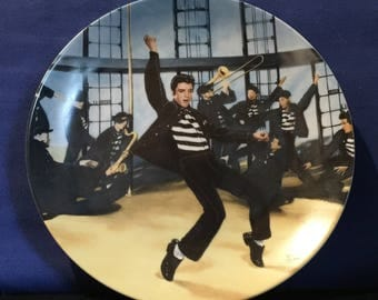 "Elvis Presley 'Looking at a Legend' ""Jailhouse Rock"" Collector's Plate - NIBElvis Presley 'Looking at a Legend' ""Elvis in Hollywood"" Collect"