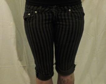 stripey shorts
