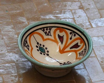 Oriental Ceramic dishes bowl bowls for dip and olives ภ10 cm