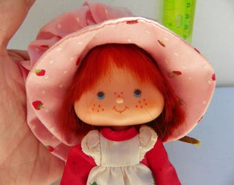 Vintage 1979 Strawberry Shortcake Doll , Vintage 1970's Toy , 1979 American Greetings Corp Doll , Collectible Vintage Doll Toy