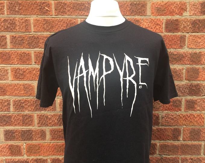 Featured listing image: goth t-shirt, Vampyre t-shirt, alternative t-shirt, horror t-shirt, gift for goth, alt tee, horror, graphic t-shirt, Nameless City Apparel