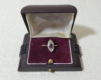 Bakelite ring box Etsy