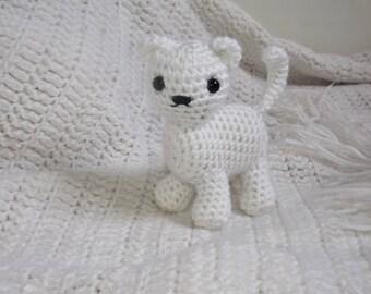 Little kitty, Crochet Kitty, Stuffed Animal, Plushie, Photography Prop, Gift for Girls, Gift for Boys, Birthday Gift