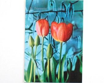 International Women's day cards , Vintage soviet postcard , USSR postcards , Retro postcard C0030