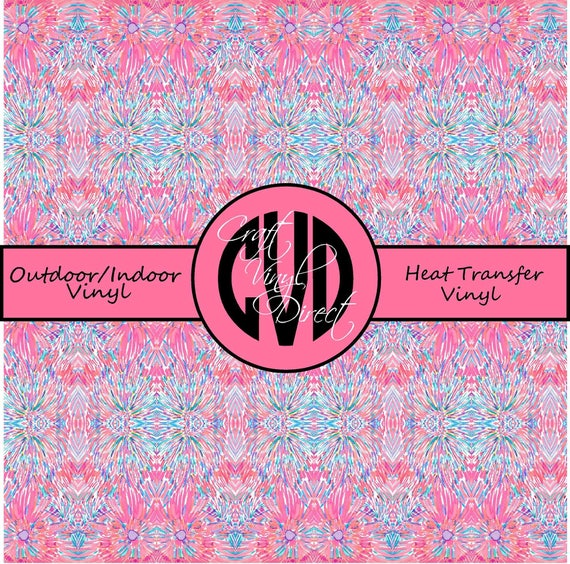 Beautiful Patterned Vinyl // Patterned / Printed Vinyl // Outdoor and Heat Transfer Vinyl // Pattern 717