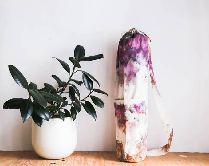 Yoga Mat Bag: Lily Pads