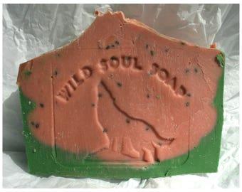 Juicy Watermelon Soap/vegan soap/cruelty free soap/summer soap