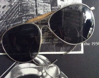 Cool Vintage American Optical Aviator Sunglasses