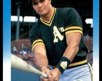 Vintage - 1987 Fleer #389 Jose Canseco