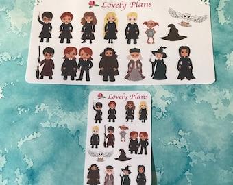 Wizard Stickers