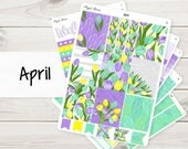 April Weekly Kit | Planner Stickers
