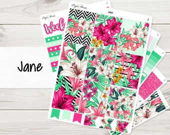 Jane Weekly Kit | Planner Stickers