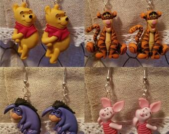 Disney Winnie The Pooh Earrings