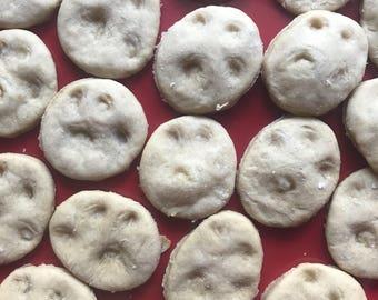 Pumpkin Peanut Butter Paw Puffs - Dog Treats