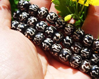 Yak bone mala beads prayer Mala Rosary Nepal