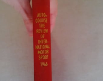 Autocourse Annual Review Book Ex-Library 1966 Motorsport Formula One F1
