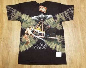 New Large vintage star wars shirt, episode 1 shirt,NWT, NEW, starwars
