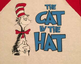 Cat In The Hat - Dr. Seuss - Raglan