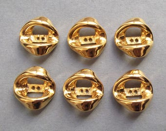 6 buttons 20 mm full metal / high quality