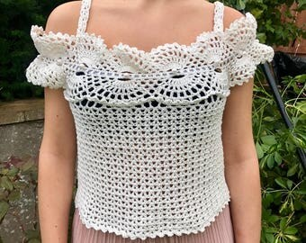 Summer crochet top