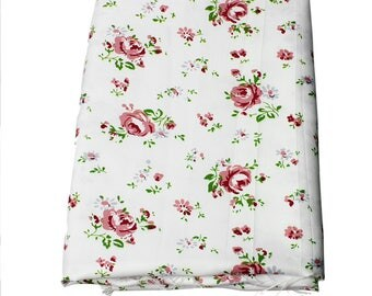 Polyester fabric, 150cm x100cm coupon: flowers