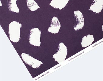 Brush Past Wrapping Paper - Purple