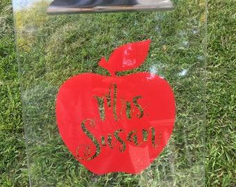 Teacher Gift - Teacher Clipboard - Personalized Clipboard - Personalized Teacher Gift - Clipboard Teacher - Teacher Gift