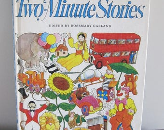 Book, Children's Book, Two-Minute Stories, Bedtime Stories Book