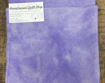 Hand-dyed Wool Fat Quarter -- Lavender -- FQ543