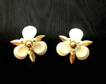 Clip on Vintage Earrings